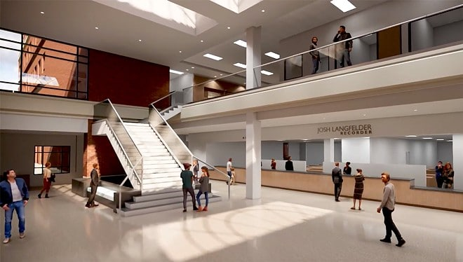 Courthouse renovation planned